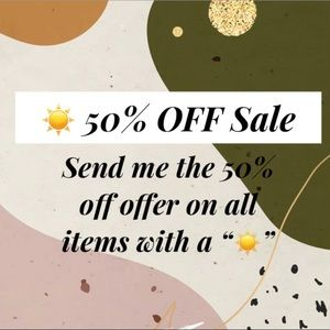 Other - ☀️ 50% OFF SALE